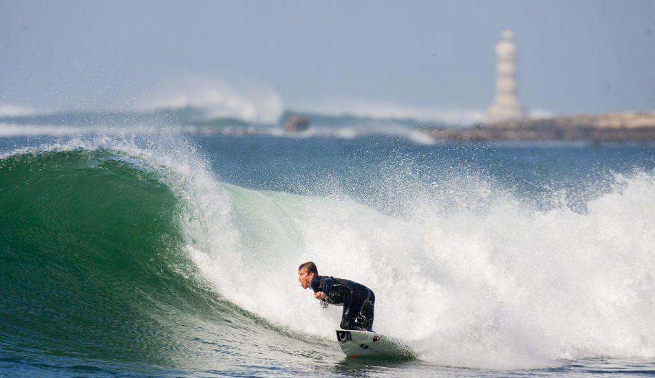 Une étape de la coupe du monde de surf à Dakar